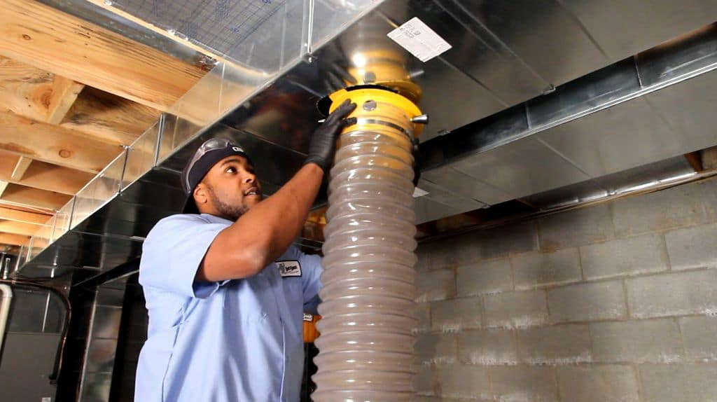 NJ air duct cleaning