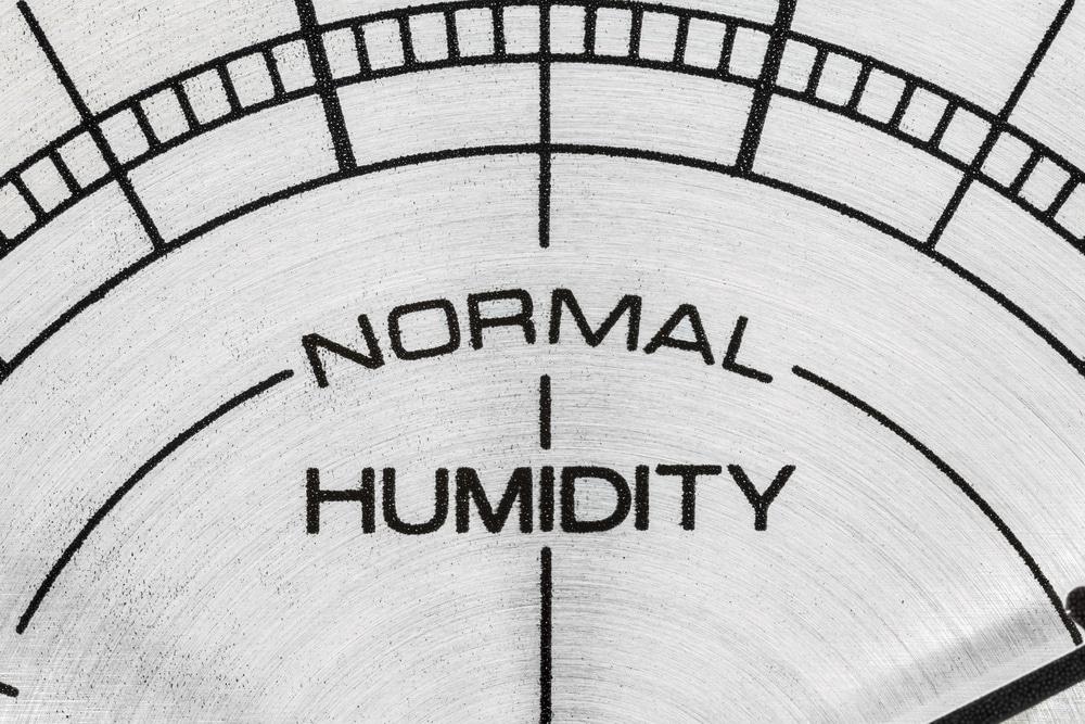 humidity levels